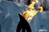 Flame kiss (огненный поцелуй) - передача огня от одного факелоносца к другому. Это самый волнительный момент в эстафете