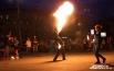 Вблаготворительном шоу приняли участие 12 фаерщиков Новосибирска