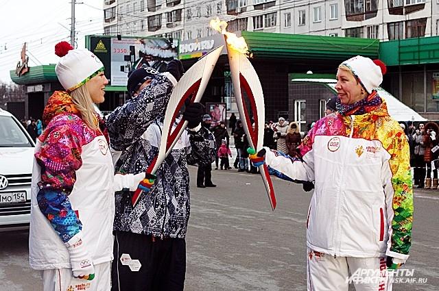 Татьяна Лазарева бежала двойную дистанцию.