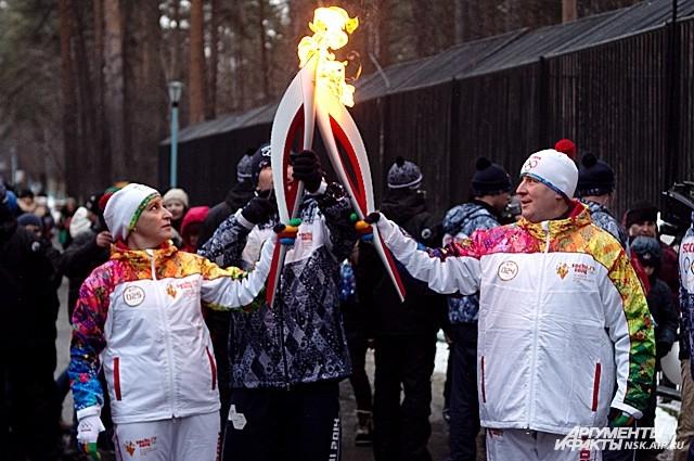 Светлана Митюкова, факелоносец: «Факел, опаленный огнем Олимпиады - бесценное сокровище!»