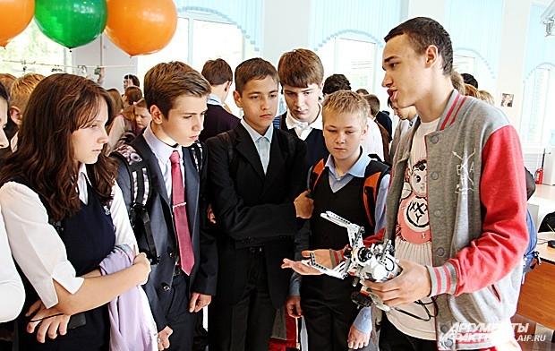 Техническая площадка форума собрала всех, кто интересуется роботами
