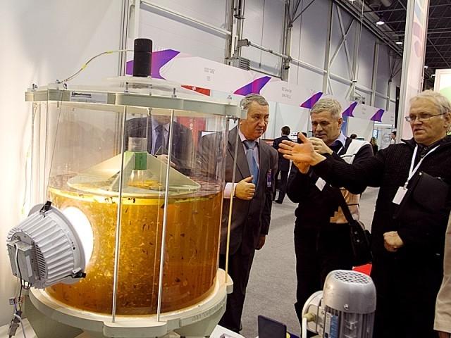 Экспоненты выставки «Технопром»  демонстрируют свои разработки