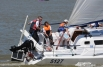 Среди участников-юниоров умело управляли парусами даже девушки