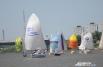Всего в омских гонках приняли участие 16 взрослых яхт и 25 детских