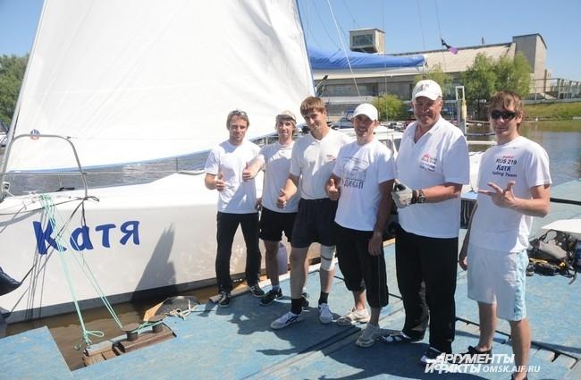 Взрослая гонка состояла из трех этапов, абсолютным победителем которых стала яхта «Катя»