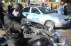 Экспонатами стали около 200 мотоциклов, патрульные автомобили ДПС ГИБДД, приборы «Арена», «Поток», передвижная дорожная лаборатория, джипы.