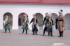 Общество исторической реконструкции «Кованая рать» разыграла настоящий штурм разбойничьего острога царскими войсками.