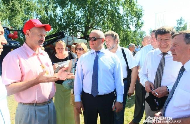 В Омской области в одиннадцатый раз состоялась Сибирская агротехническая выставка-ярмарка «АгроОмск-2013».
