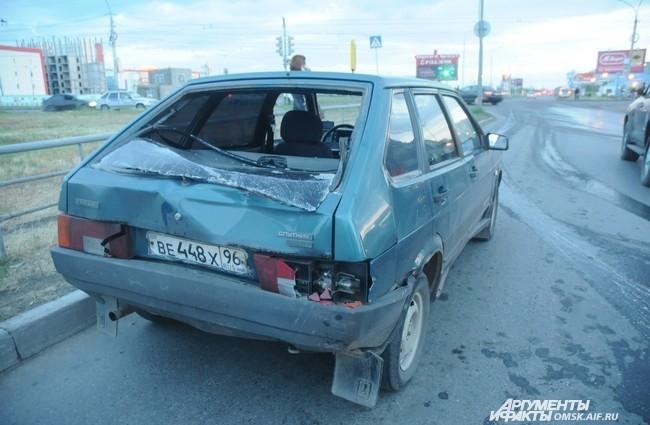 Несколько автомобилей после ДТП находились в плачевном состоянии
