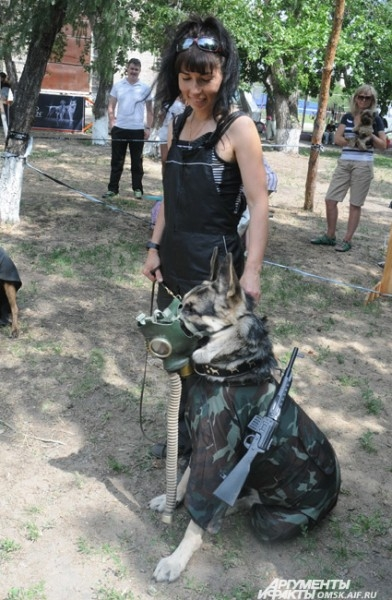 Некоторые из участников даже осилил курс защитно-караульной службы.