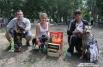 А абсолютными победителями выставки стали три собаки. Первое место заняла Берта Екатерины Ковалевой, второе - овчарка Умка Юлии Джумабековой, третье - Грей Петра Шамшина.