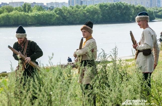 Участники сражения были вооружены ручницами - дульнозарядными предками ружей.