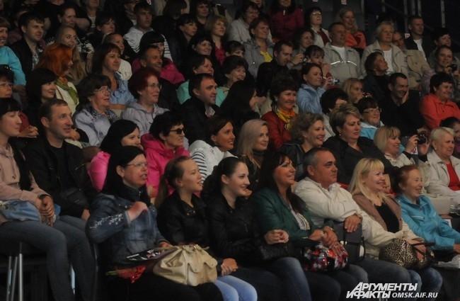 Омскому зрителю, похоже, нравилось происходящее на сцене.