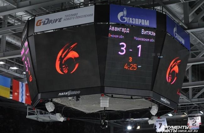 "Хоккейный матч ""Авангард"" - ""Витязь""."