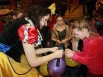После вручения подарков начались конкурсы, песни и танцы...