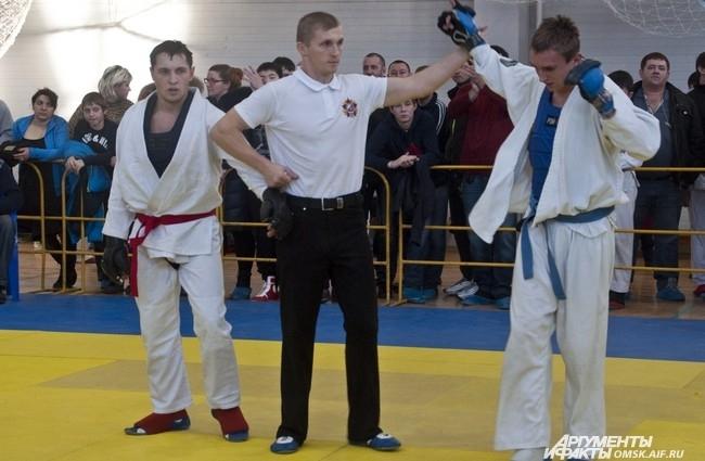 Турнир по рукопашному бою прошёл в ДЮСШ им. Олега Охрименко.