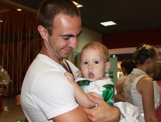 Кирилл с папой