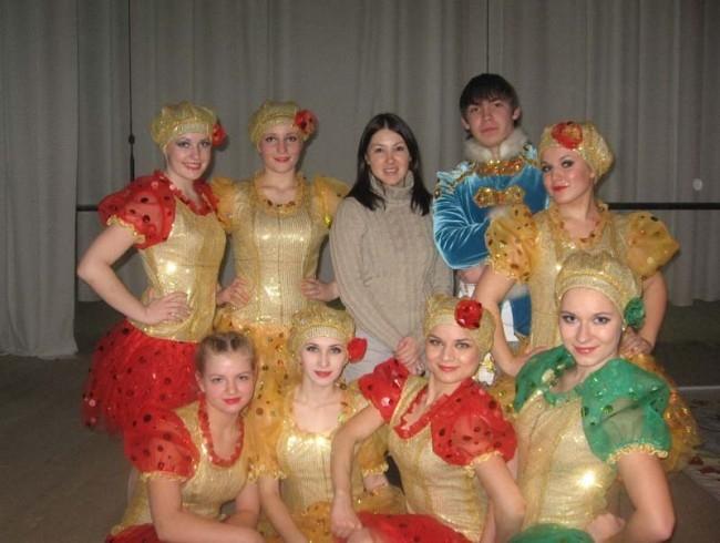 Мы и наш руководитель Римма Байдавлетова