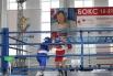 Начало боя Екатерины Сычевой (в красном) и Кристины Щербаковой (в синем)