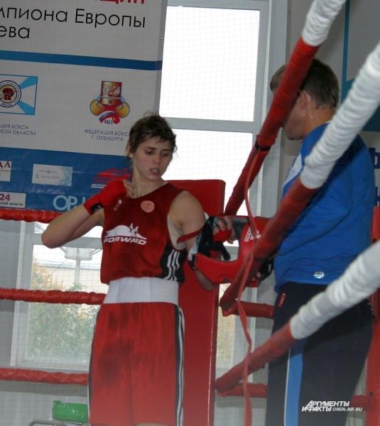 Екатерина Сычева после боя