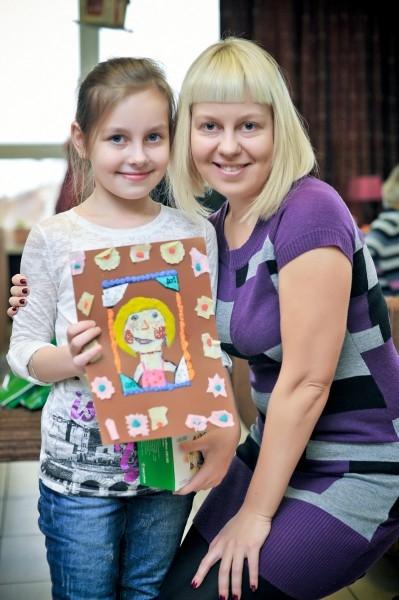 Гомонова Юлия с мамой