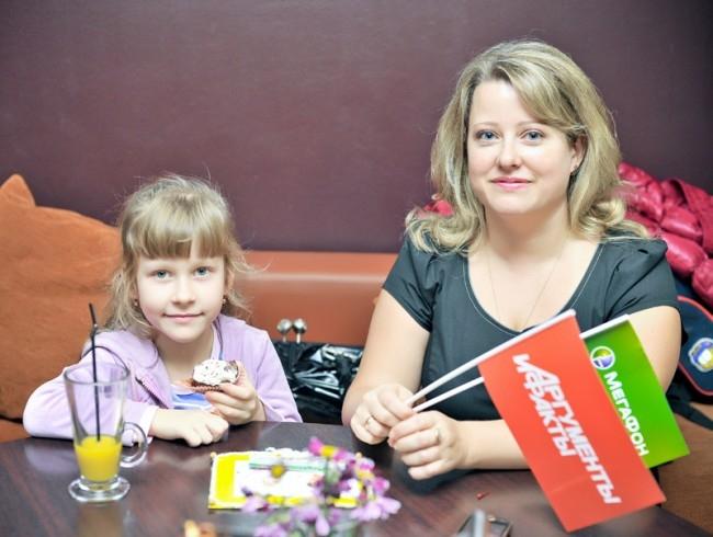 Кубасова Вероника с мамой