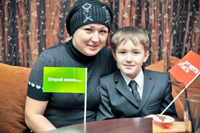 Алмаз Габзалилов с мамой