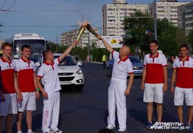 Не остался в стороне и министр спорта Оренбуржья