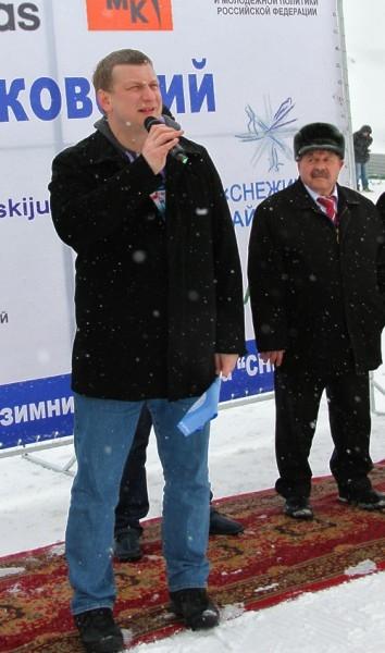 Министр спорта Пермского крася Павел Лях