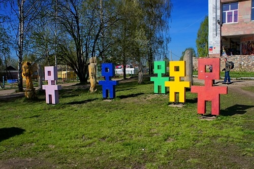 Цветные человечки