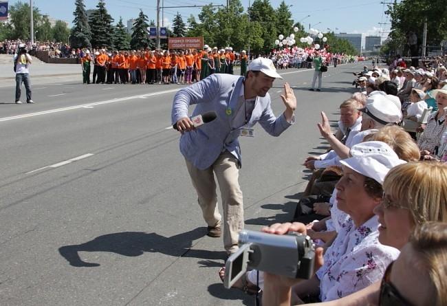 12 июня Пермь посетила съемочная группа «Реутов ТВ»