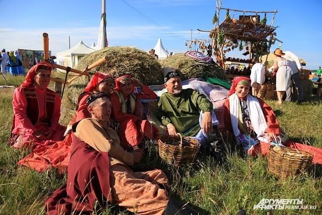 На фестиваль съехались гости из разных сел России