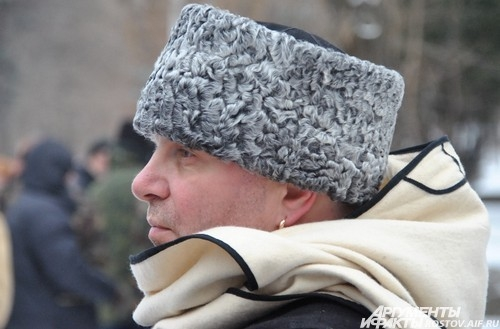 серьга в ухе – символ единственного сына в казачьей семье