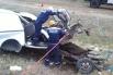 В лобовом столкновении грузовика и «ГАЗели» погибли 2 человека, 1 серьезно пострадал