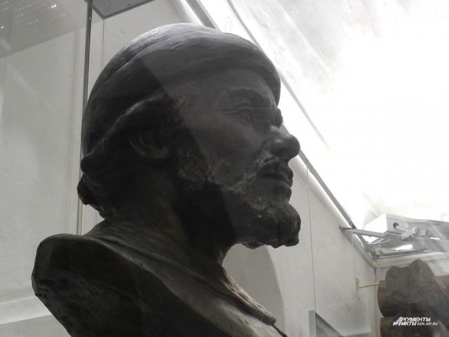 Скульптурная реконструкция жителя Переяславля 12 века