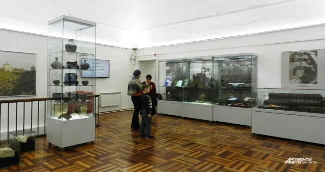 Первый зал экспозиции