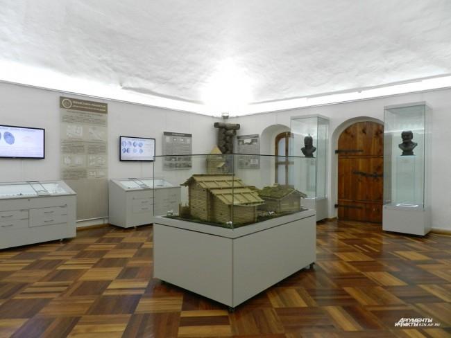 Второй зал экспозиции
