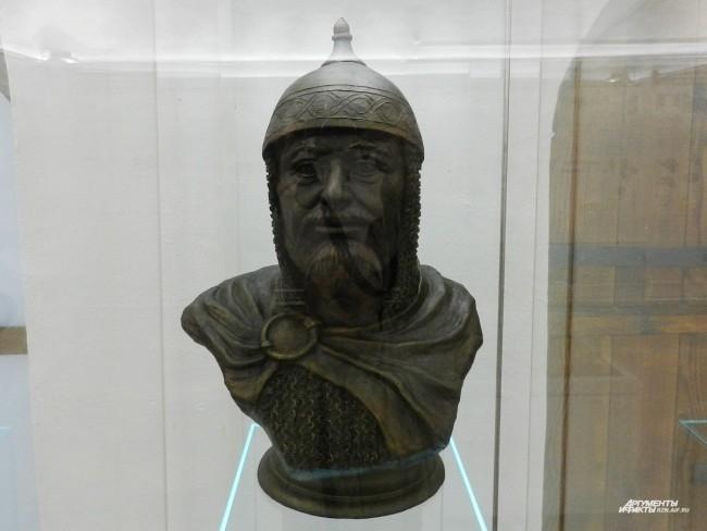 Скульптурная реконструкция Великого князя Олега Ивановича Рязанского (1335 - 1408)