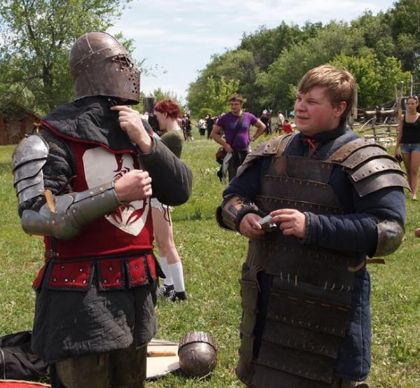Рыцари перед схваткой