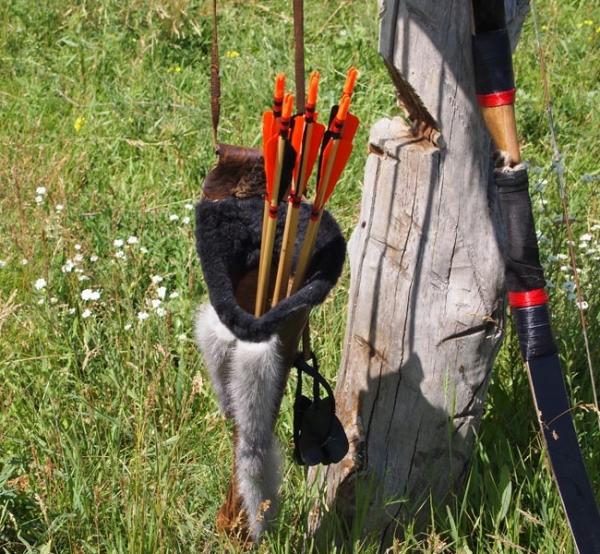 Лучники готовятся к стрельбам