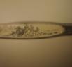 Фрагмент народной сказки Репка, выполнен на горном хрустале и помещен в игольное ушко