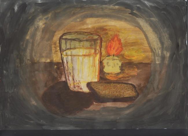 Рябова Таня. Блокадный хлеб