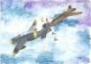 Коробов Родион, 10 лет, ученик 4 Г класса ГБОУ Лицея № 387 имени Н.В.Белоусова. Воздушный таран в небе Ленинграда
