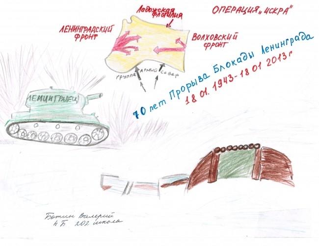 Ботин Валерий, 4 Б класс, школа №202