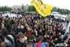 Люди приходили с флагами панк-группы «Король и Шут» и с цветами