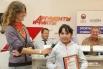 Юная каратистка Майя Михайлова стала победительницей конкурса