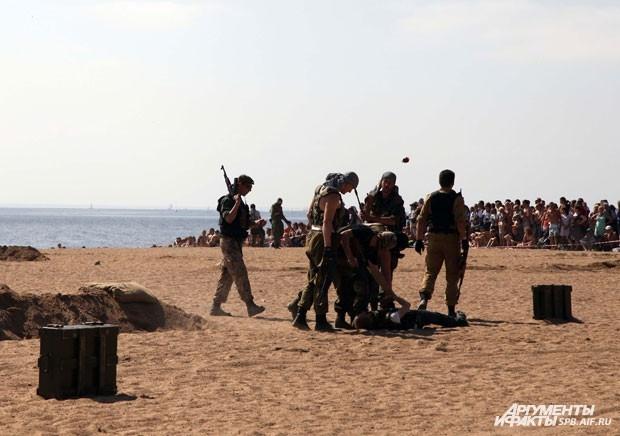 В результате разыгранной спецоперации все заложники были успешно освобождены