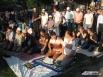 Тысячи мусульман собрались на празднование Ураза-Байрама