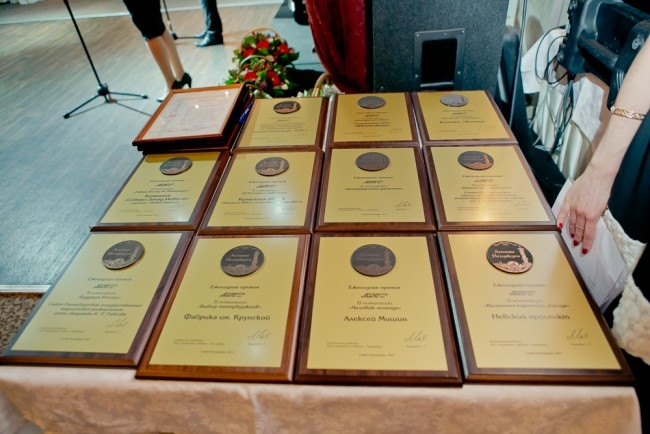 Награды, доставшиеся лауреатам премии