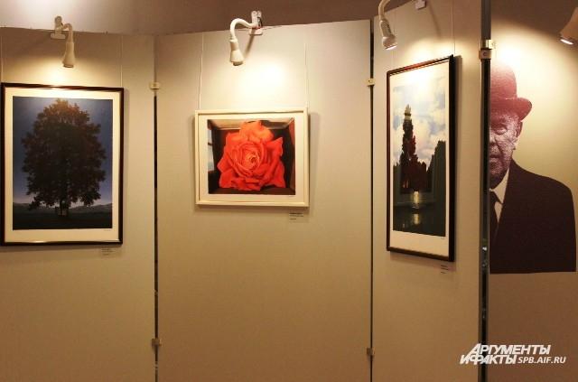 На выставке представлено 48 литографий